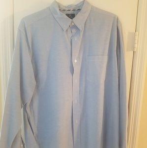Mens button down slim fit shirt